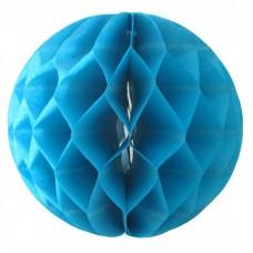 Шар-соты синий