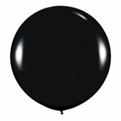 """Шар """"Черный"""" 90 см"""