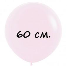 Воздушный шар 60 см розовый