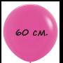 Воздушный шар 60 см фуксия