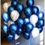 "Воздушный шар ""Синий хром"""