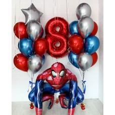 """Набор """"Человек-паук"""" с цифрой"""