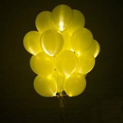 Светящийся шар Желтый