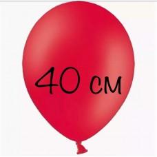 Воздушный шар 40 см красный
