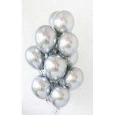 "Воздушный шар ""Серебро хром"""