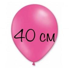 Воздушный шар 40 см фуксия