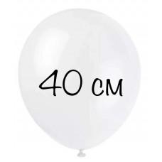 Воздушный шар 40 см белый