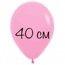 Воздушный шар 40 см розовый