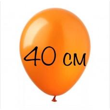 Воздушный шар 40 см оранжевый