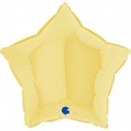 Звезда желтый пастель