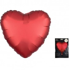 Сердце сатин ягодный