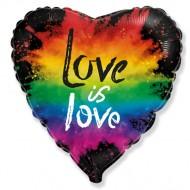 """Сердце """"Красочная любовь"""""""