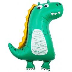 """Фольгированный шар """"Добрый Динозаврик"""""""