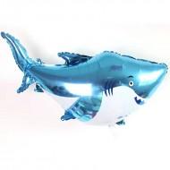 """Фольгированный шар """"Акула"""""""