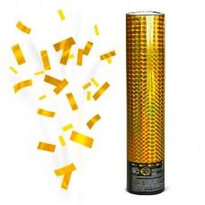 Пневмохлопушка золото 60 см.